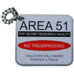 Area 51 Travel Tag